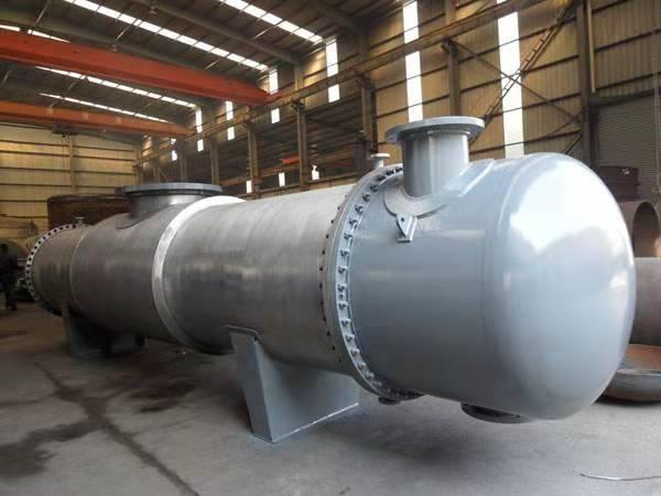 钛冷凝器    钛管换热器   钛冷却器