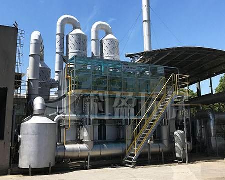 合肥杰通环境橡胶废气治理-承包工程项目