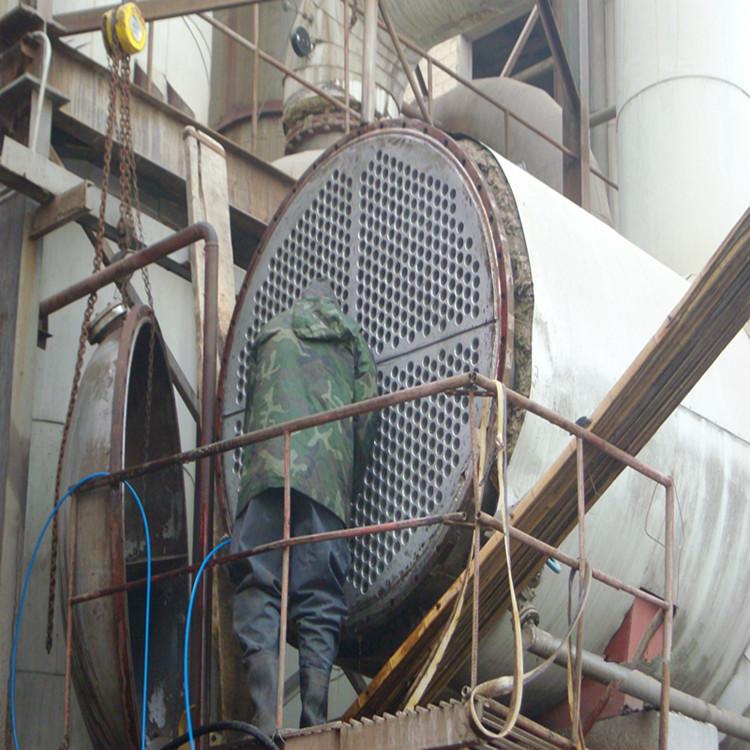 淀粉厂蒸发器清洗一效二效三效蒸发器公司