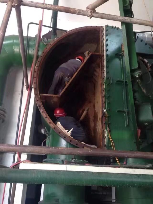 凝汽器改造