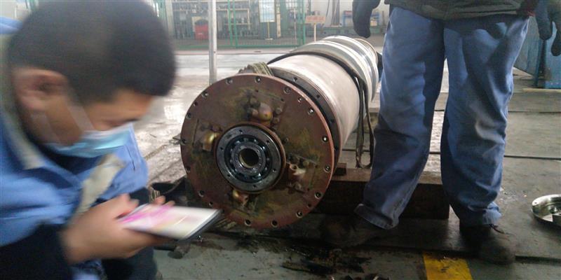 淄博福樂偉Z5E差速器螺旋轉股維修