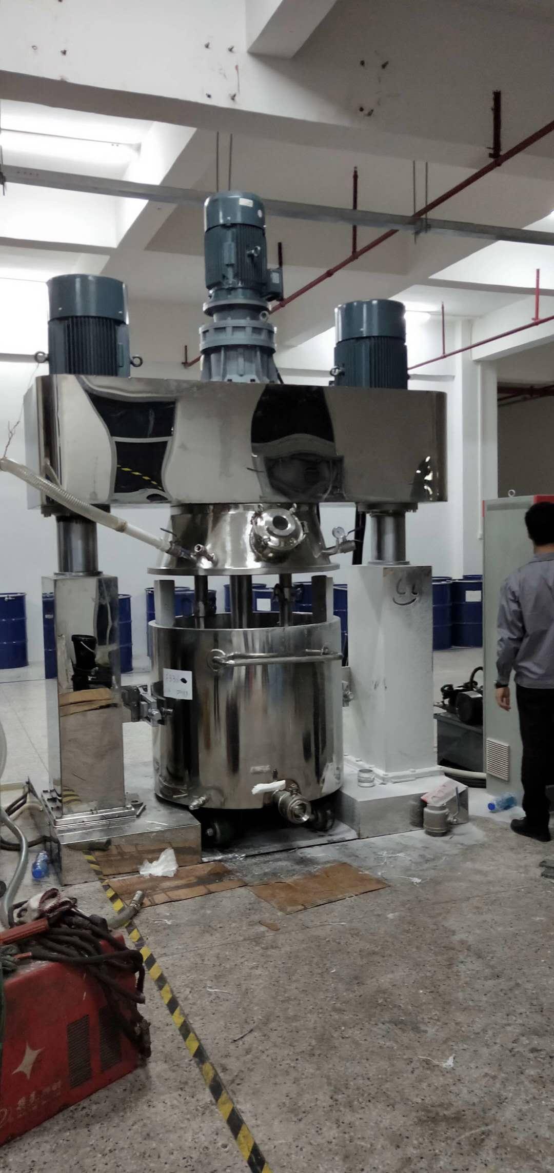 结构胶生产设备强力分散机