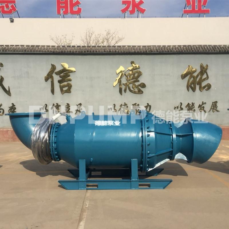 浮筒式大口径大排量潜水轴流泵