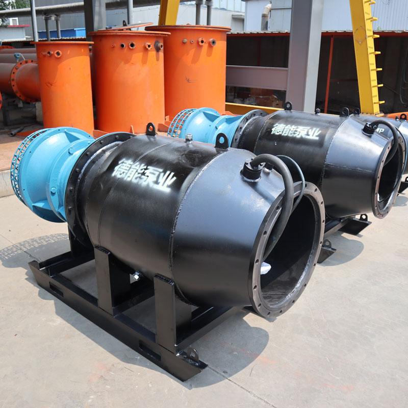 防洪排涝利器雪橇式潜水排涝泵