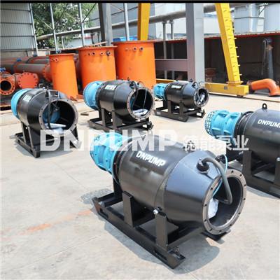 农田灌溉临时取水雪橇式轴流泵型号