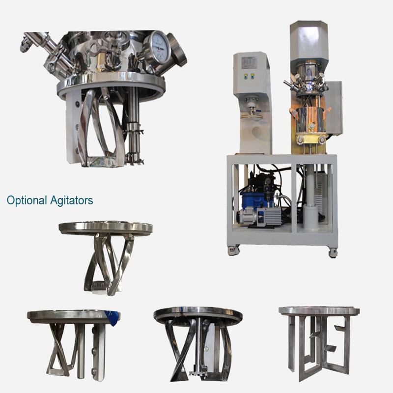 實驗室雙行星動力混合機一臺可定制
