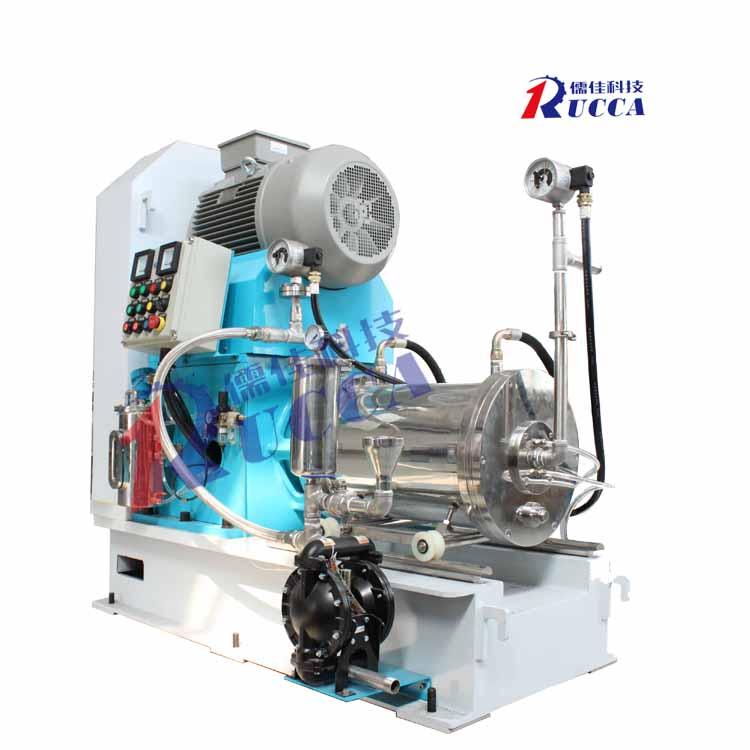 透气膜碳酸钙研磨设备 儒佳砂磨机