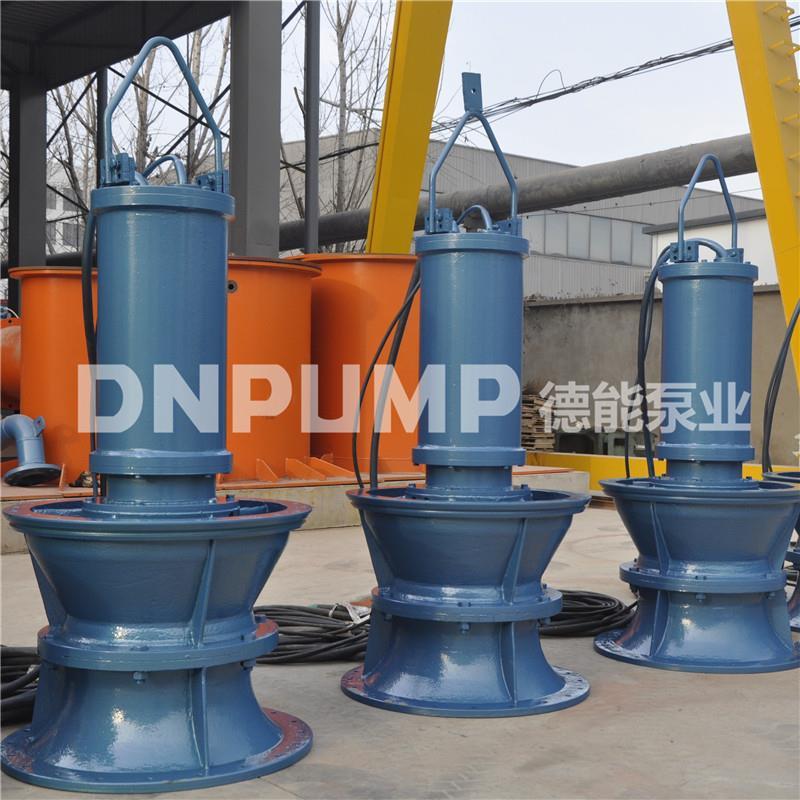 雨水提升泵站专用潜水轴流泵安装方式及使用场合