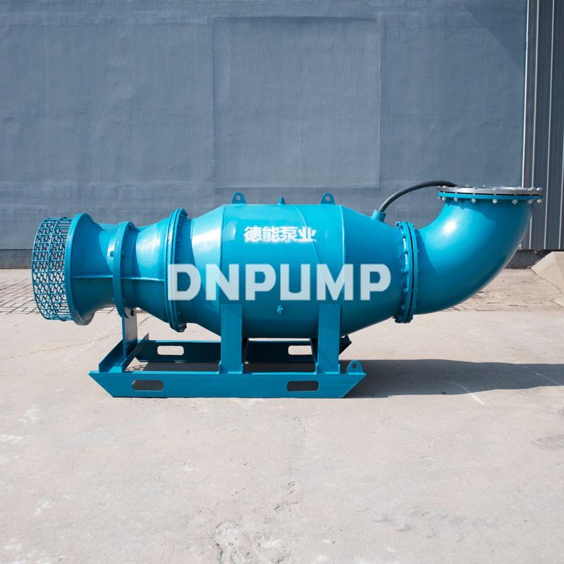河流水库排水专用卧式轴流泵