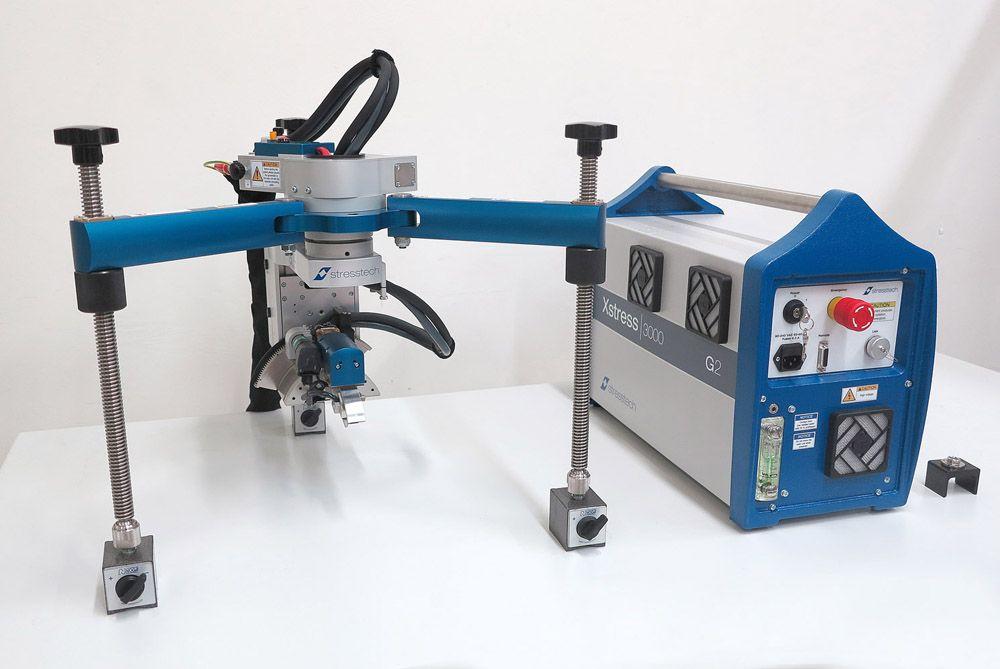 便携式X射线残余应力分析仪