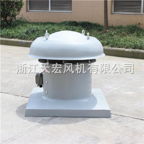 天宏DWT-I-4型低噪聲軸流式屋頂風機 玻璃鋼屋頂排風機