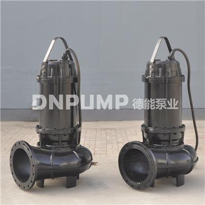 天津厂家直供大排量无堵塞潜水排污泵污水排放速度快