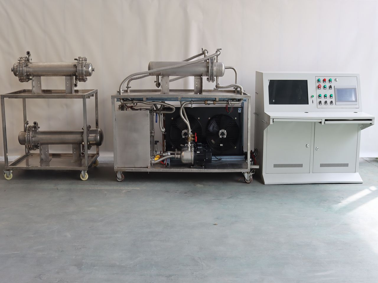 传热试验台+传热科研平台