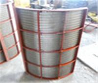 供應不銹鋼楔形絲網片