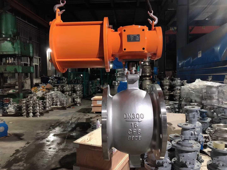上海气动不锈钢调节阀-V型球阀所选彭臣泵阀