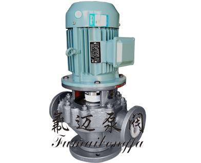 GD-F襯氟立式管道泵