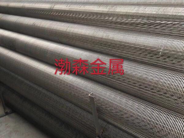 不锈钢三角丝筛管楔形筛网滤管
