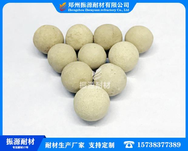 優質高鋁耐火球的廣泛應用說明