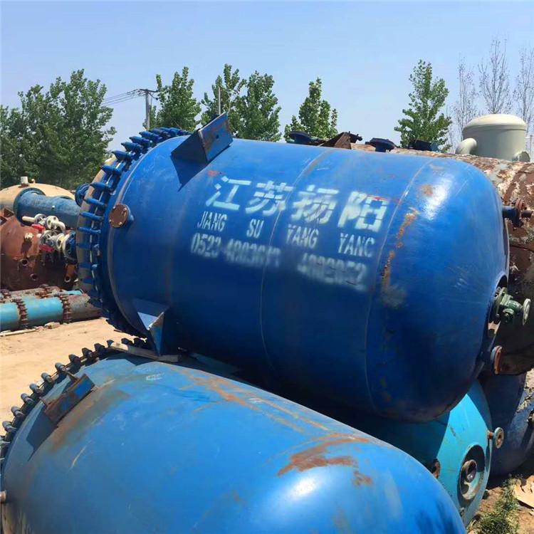 出售二手搪瓷反應釜1-30噸