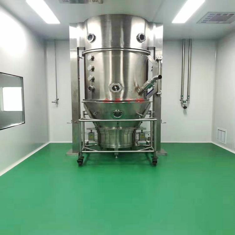 綠茶松花粉一步制粒機 沸騰制粒干燥機 腸潤茶粉體造粒機