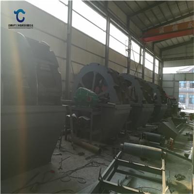 供应阜阳太和县大型矿砂洗砂机 定制轮斗洗砂机