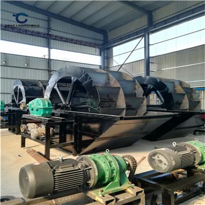 供应宿州砂场轮斗洗砂机 定制水洗轮洗砂机械