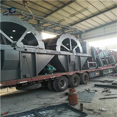 供应新余市分宜县沙场矿山洗砂机械 定制轮斗式洗砂机