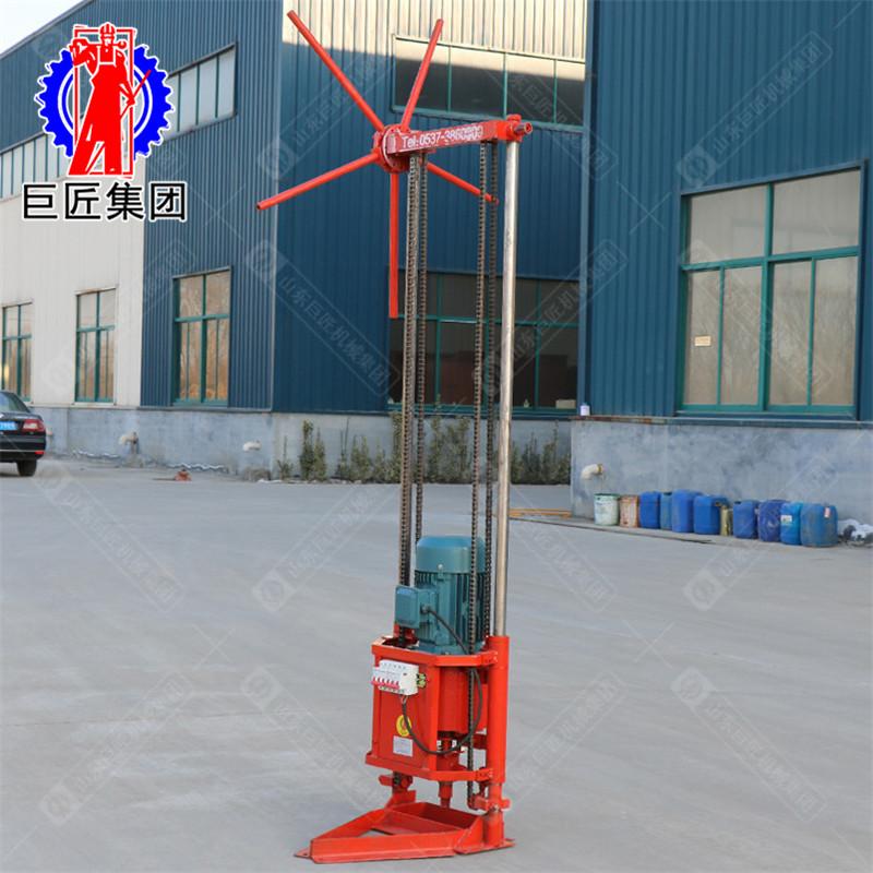 巨匠集團QZ-2D型三相電輕便取樣鉆機 小型地質勘探鉆機