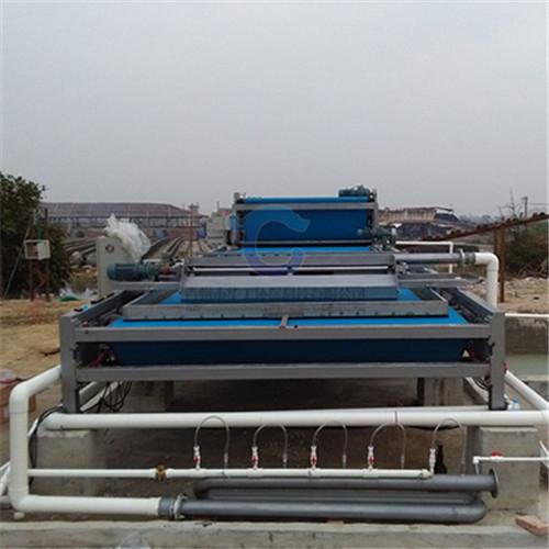 小型带式压滤机 定制淤泥浓缩脱水机厂家
