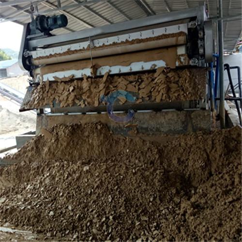 带式沙场脱水机 洗沙泥水处理设备配置