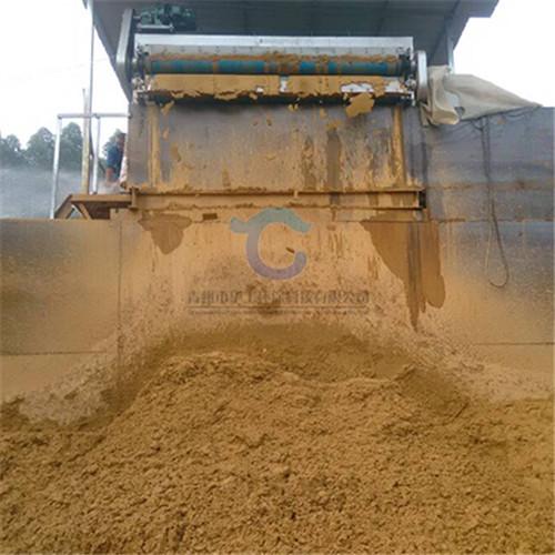 直销3米带宽淤泥压滤机 洗沙选矿泥浆脱水设备报价