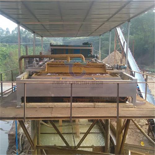 选矿洗沙泥浆干排设备 带式压滤机供应商