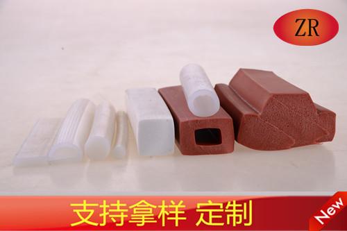 硅膠發泡密封條食品級硅膠管
