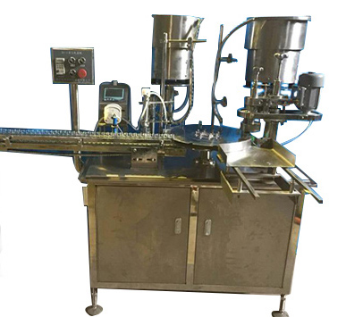 全自動西林瓶灌裝軋蓋一體機