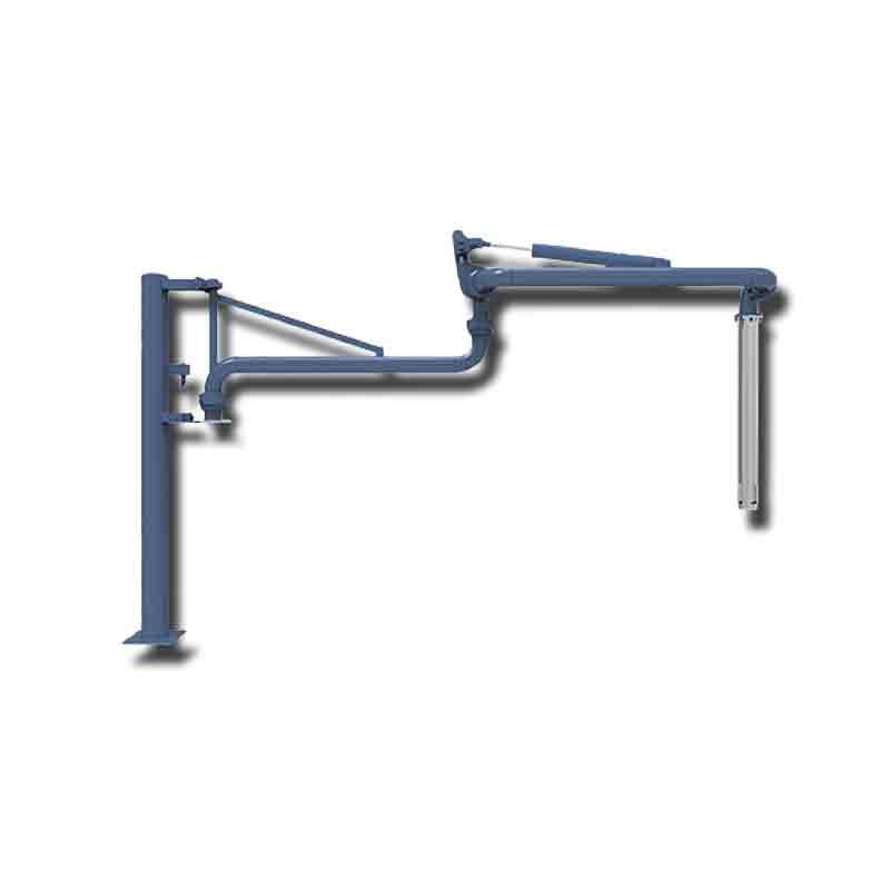 湖北弘仪上装顶部鹤管输油臂流体装卸臂加油臂万向臂装车AL1403