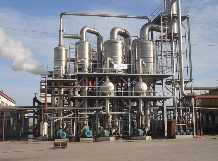 二手5吨8吨10吨12吨三效降膜蒸发器