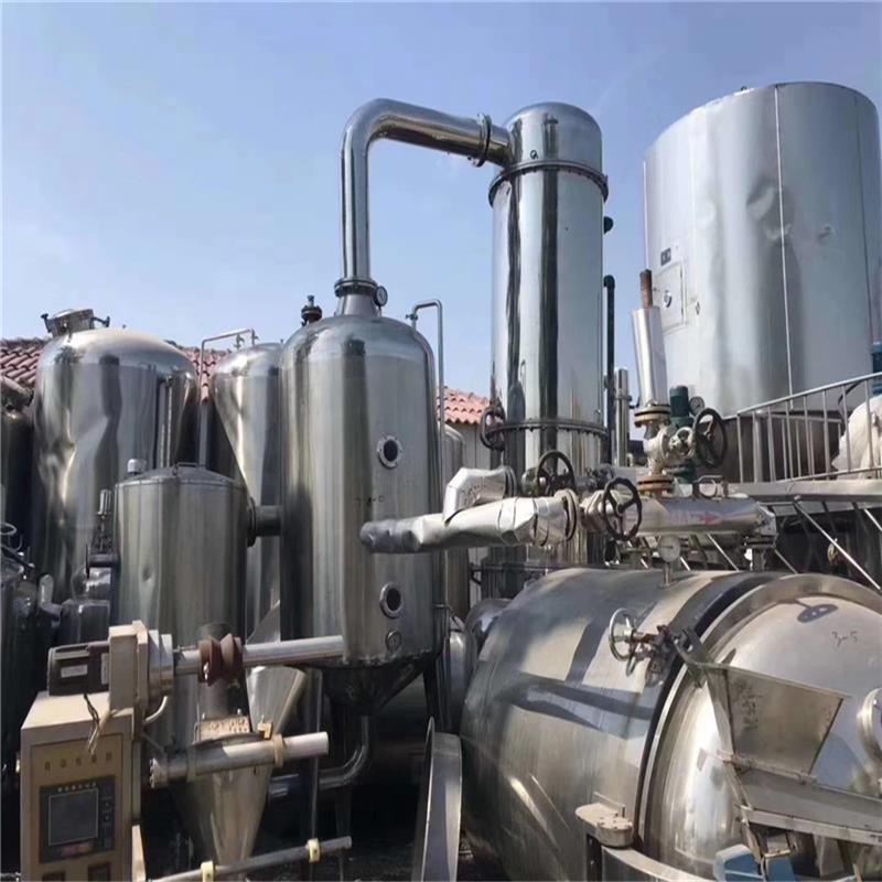 现货出售二手三效5吨强制循环蒸发器