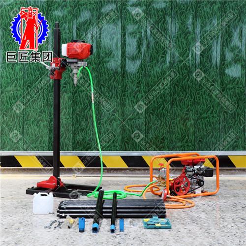 巨匠供应背包钻机塔基勘察BXZ30米小型钻探机