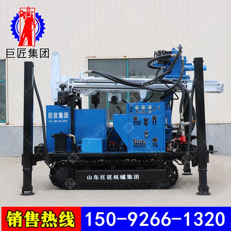 巨匠供应直推式土壤取样钻机QTZD-20履带式取土钻机