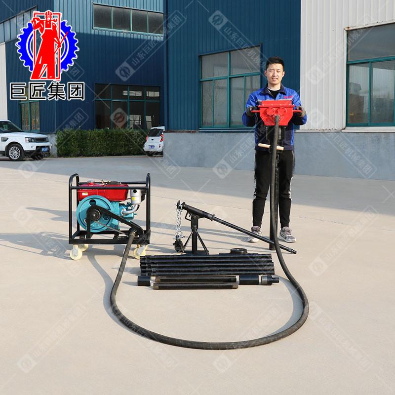 巨匠供应国产土壤取样钻机QTZ-4冲击力大进尺力度强