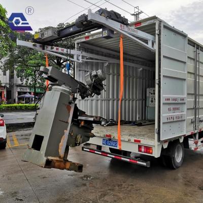 一款吊设备专用的厢式货车吊机,厂家直销,诚信经营