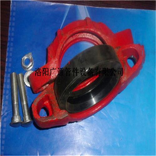 礦用溝槽管件krc型卡箍式柔性管接頭