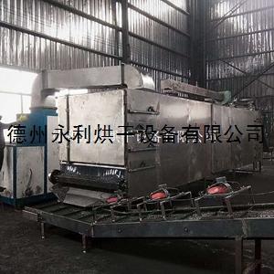 工廠定做帶式熱風烘干機 大型工業用干燥設備