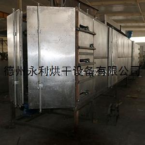 工厂定做网带式碎玻璃烘干设备 玻璃钢热风网带烘干机