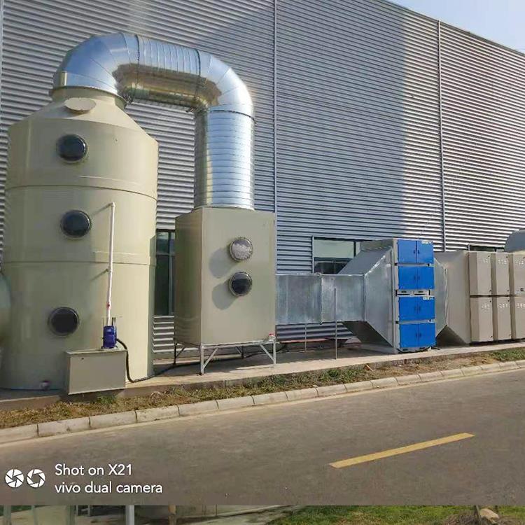 废气处理-voc工业废气治理-喷淋塔-就选合肥杰通环境