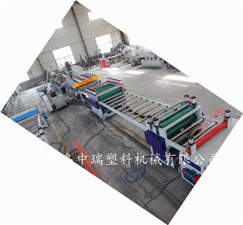 福建泉州PP建筑模板機械設備