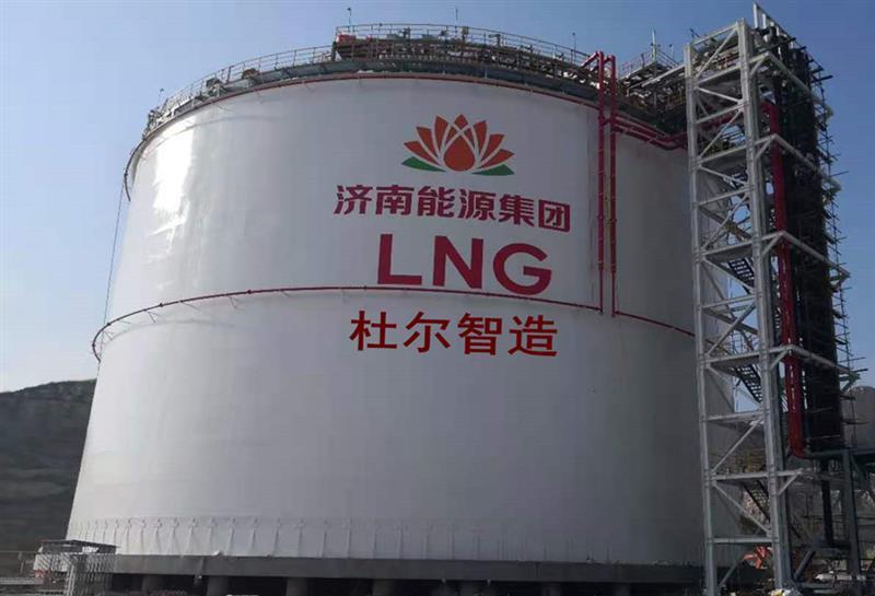 新疆LNG工业气体低温储罐