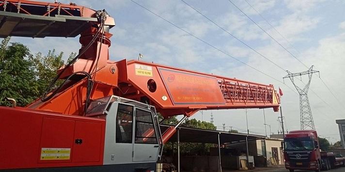 江蘇聯源混凝土布料機使用技術交底
