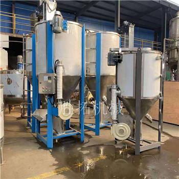 余姚市塑料攪拌機烘干混合機熱風拌料機蛟龍混料機立式螺桿拌料機