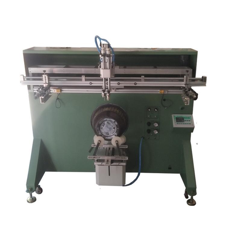 加侖花盆絲印機環球花盆滾印機陶瓷花盆印刷機